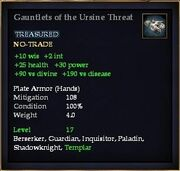 Gauntlets of the Ursine Threat