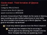 Guide event: Void Invasion of Qeynos