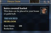 Kerra covered basket