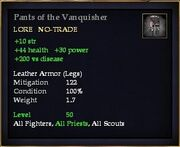 Pants of the Vanquisher