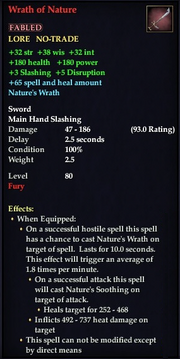 Wrath of Nature (Fabled)