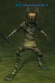 A Blackfang harbinger
