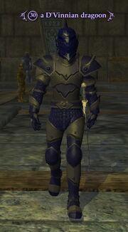 A D'Vinnian dragoon (Crushbone Keep)