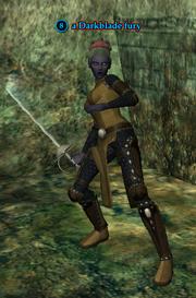 A Darkblade fury (dark elf)