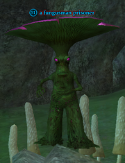 A fungusman prisoner