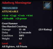 Adorberg Morningstar