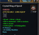 Crystal Ring of Speed