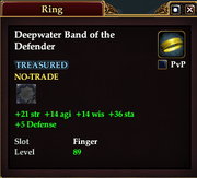 Deepwater Band of the Defender