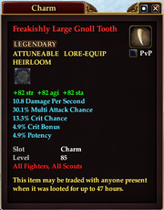 Freakishly Large Gnoll Tooth