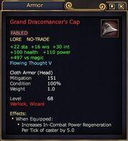 Grand Dracomancer's Cap
