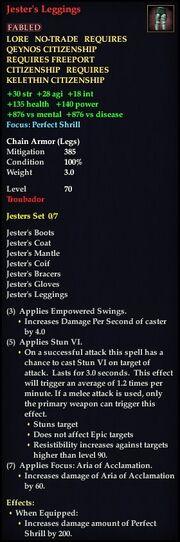 Jester's Leggings