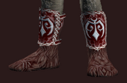 Martial Bear Pelt Boots (Equipped)