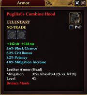 Pugilist's Combine Hood