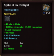 Spike of the Twilight