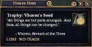 Vhoren's Seed