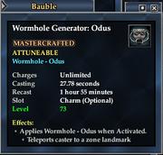 Worm Odus