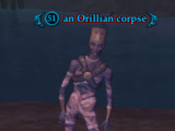 An Orillian corpse