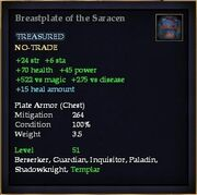 Breastplate of the Saracen