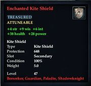 Enchanted Kite Shield
