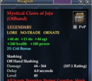 Mystical Claws of Jojo (Offhand)