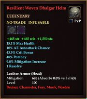 Resilient Woven Dhalgar Helm