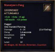 Slaverjaw's Fang