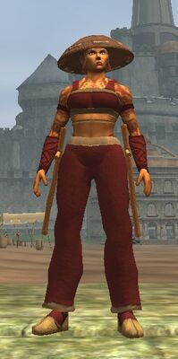 Adept Blood Hide (Armor Set) (Visible, Female)