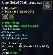 Rime-Linked Chain Legguards