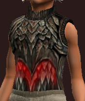Savage Breastplate of the Godslayer (Equipped)