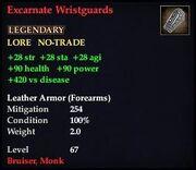 Excarnate Wristguards