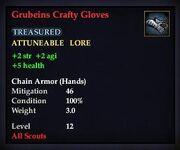 Grubeins Crafty Gloves