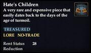 Hate's Children
