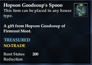 Hopson Goodsoup's Spoon