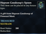 Hopson Goodsoup's Spoon