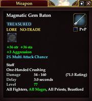 Magmatic Gem Baton