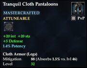 Tranquil Cloth Pantaloons
