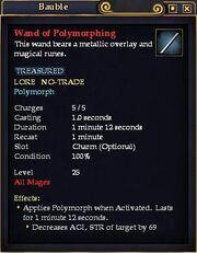 Wand of Polymorphing