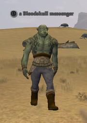 A Bloodskull messenger