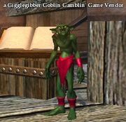 A Gigglegibber Goblin Gamblin' Game Vendor (Commonlands)