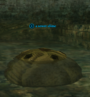 A sewer slime