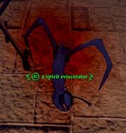 A spirit eviscerator