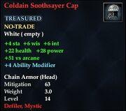 Coldain Soothsayer Cap