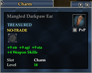 Mangled Darkpaw Ear