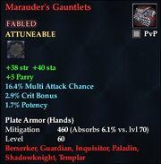 Marauder's Gauntlets (Fabled)