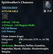 Spiritwalker's Chausses