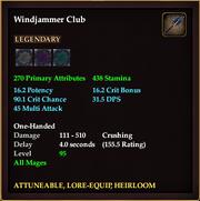 Windjammer Club