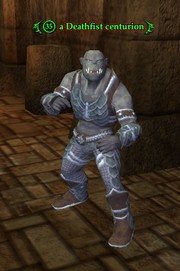 A Deathfist centurion