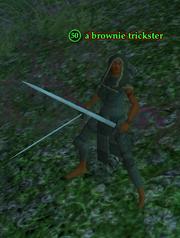 A brownie trickster