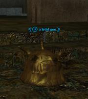 A fetid goo