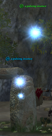 A pulsing essence